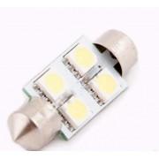 Лампа светодиодная AG40129 12V T11x36 4SMD Sv8.5 Global Autoparts