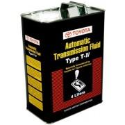 Масло трансмиссионное АКПП  ATF TYPE T-IV 08886-81015 4л TOYOTA